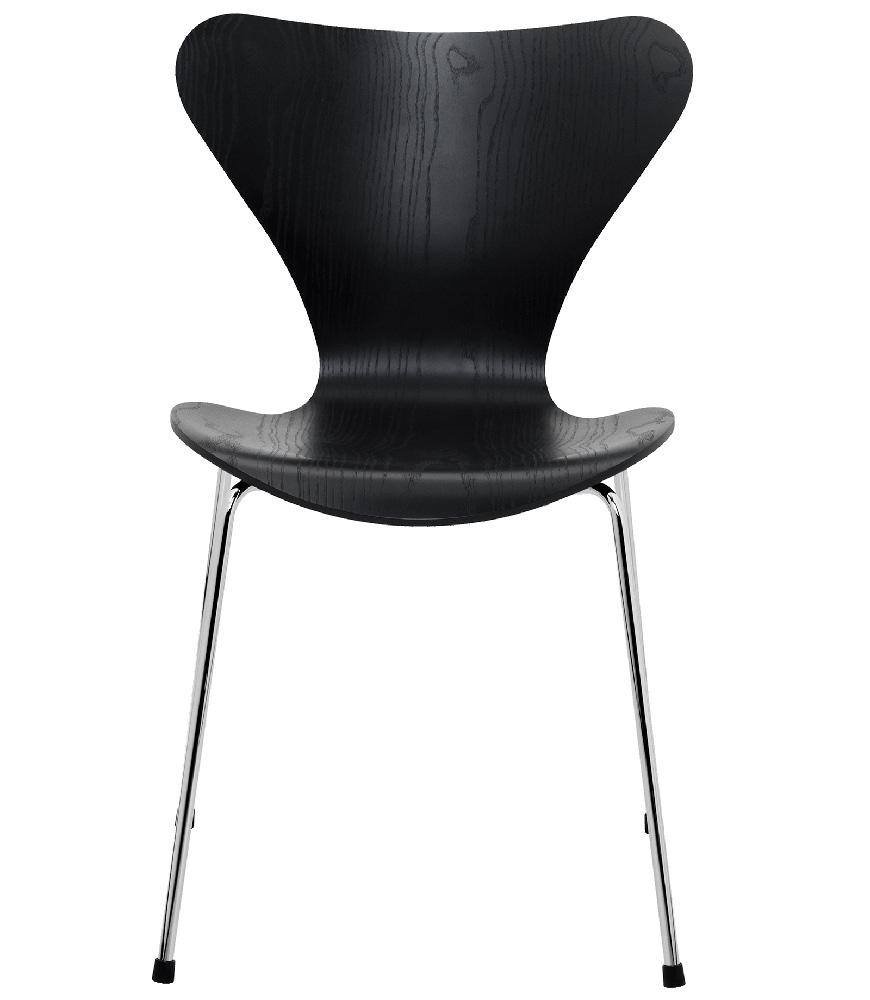 3107 stuhl farbig lasiert von arne jacobsen fritz hansen for Deckenleuchten farbig