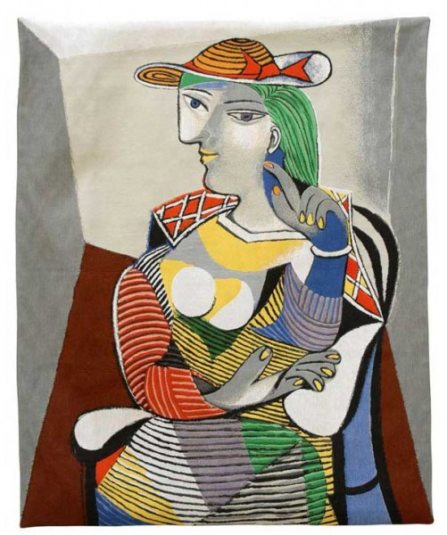 Jules-Pansu-Picasso-Wandteppich-Marie-Thérèse-Walter