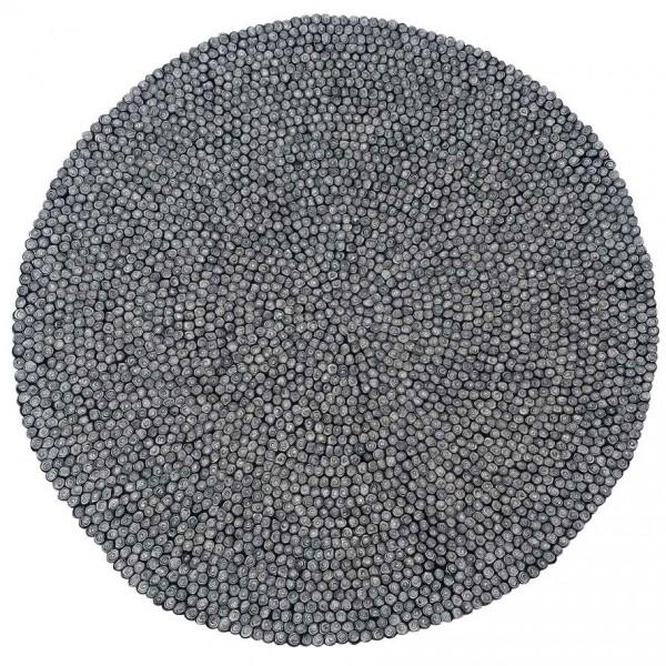 Designercarpets-Filzteppich-Nautilus-Schwarz-Weiß