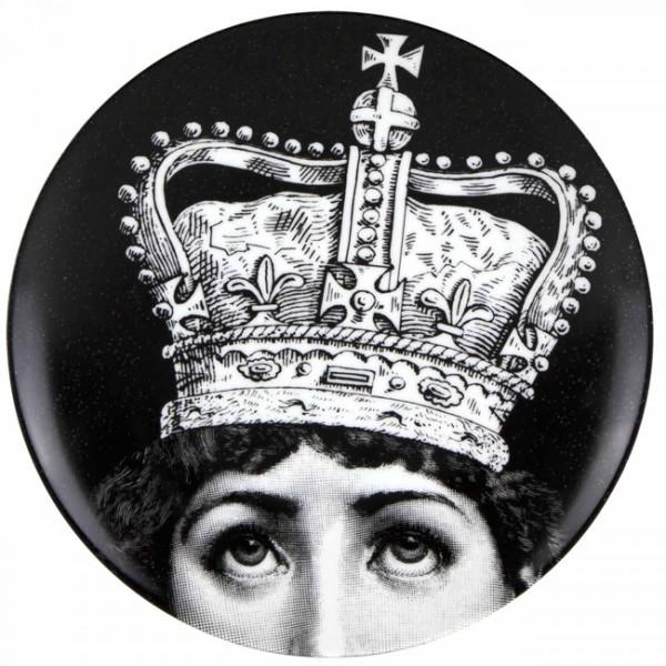 Fornasetti-Wandteller—369-Queen-Piero-Fornasetti