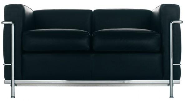 cassina-LC2-Sofa -Corbusier-Cassina