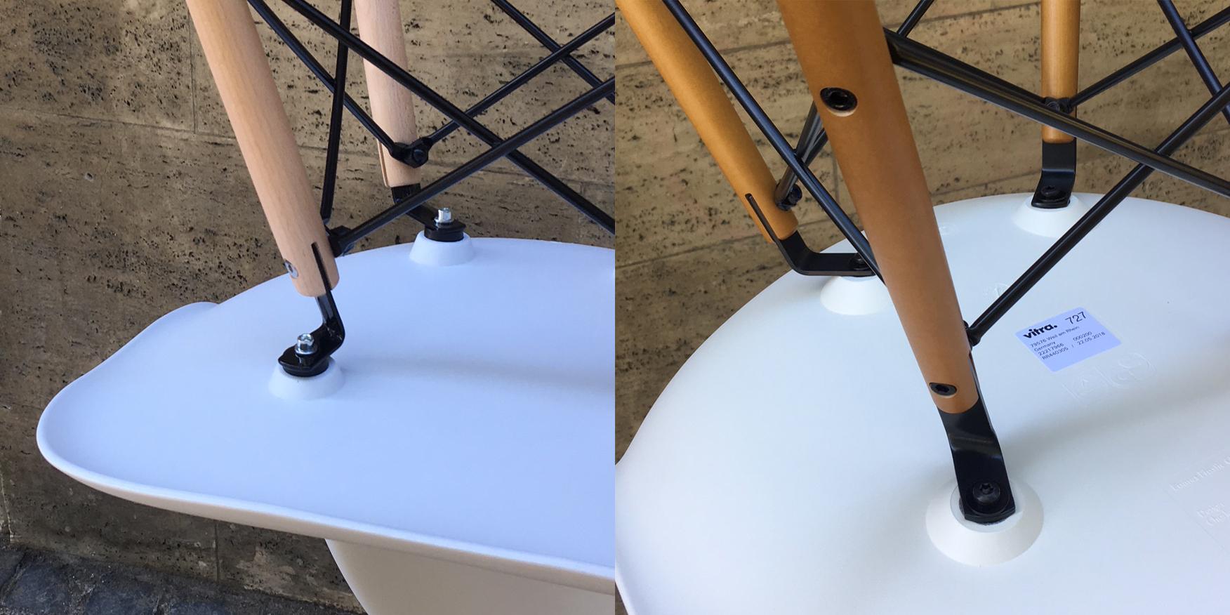 Eames Original und Fäschung