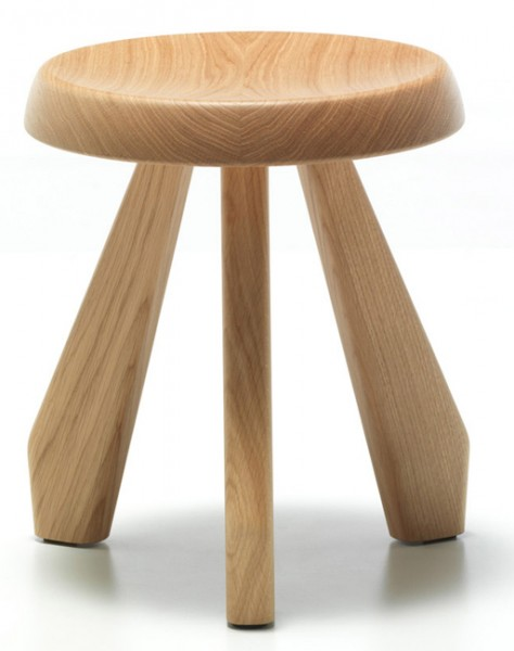 Tabouret-Meribel-Hocker-Charlotte-Perriand-Cassina