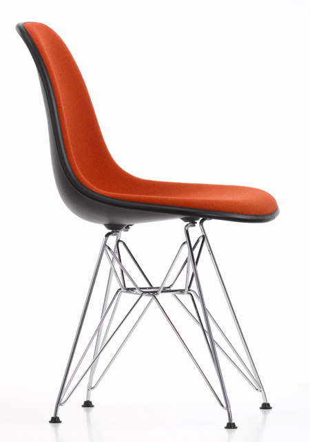Eames Plastic Chair DSR (Vollpolster) - von Charles und Ray Eames ...