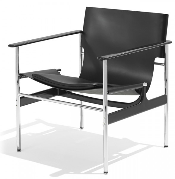 Knoll-Pollock-Sling-Lounge-Chair