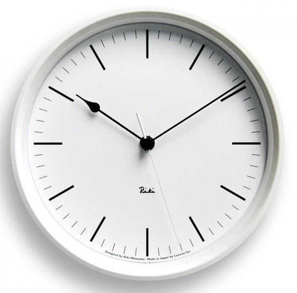 Lemnos-Riki-Watanabe-Riki-Steel-Clock
