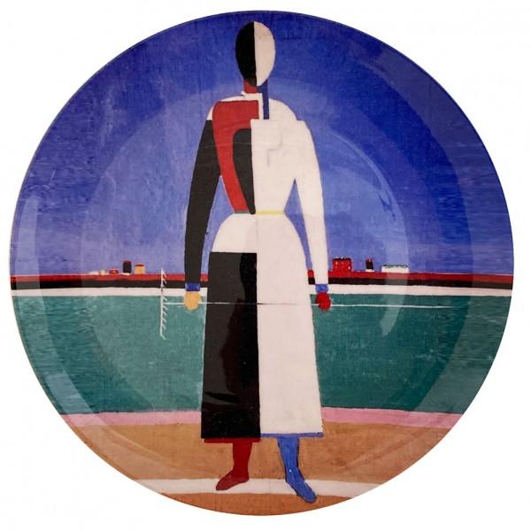 Kasimir-Malewitsch-Avantgardistischer-Teller-Staatliche-Porzellanfabrik