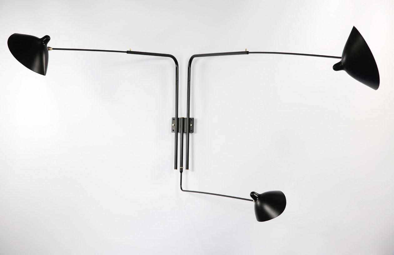 Serge-mouille-wandlampe