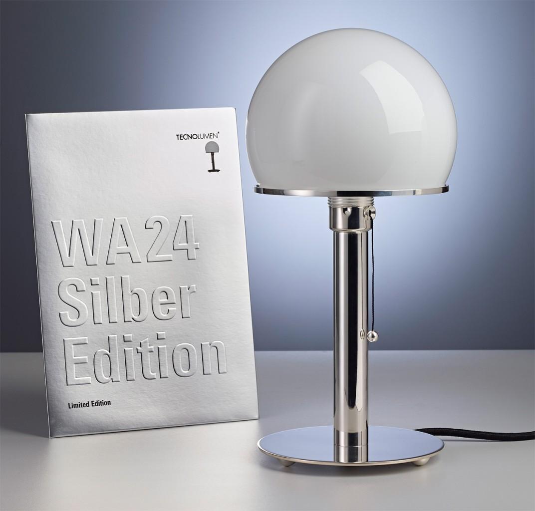 wagenfeld-leuchte-silber