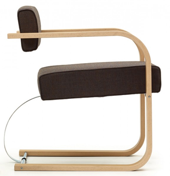 Cantilever Easy Chair Wood