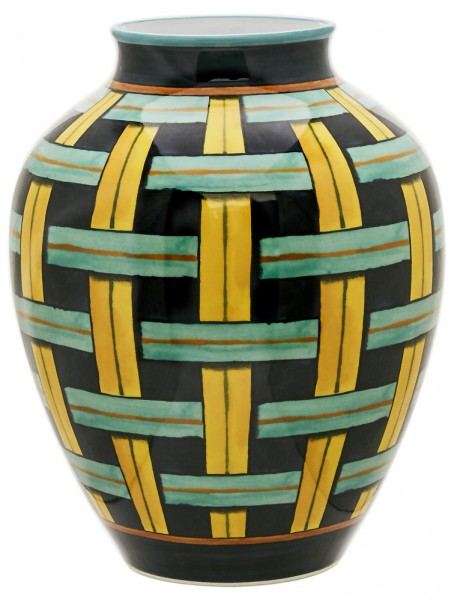Richard-Ginori-gio-ponti-Orcino-Orcino-Stuoia-Vase