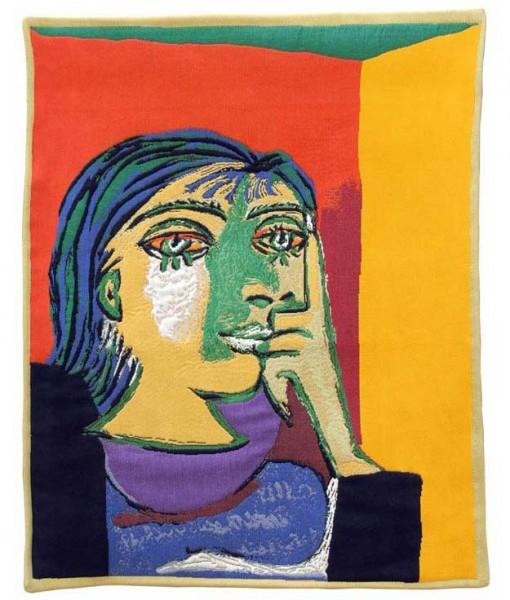 Jules-Pansu-Picasso-Wandteppich-dora-maar