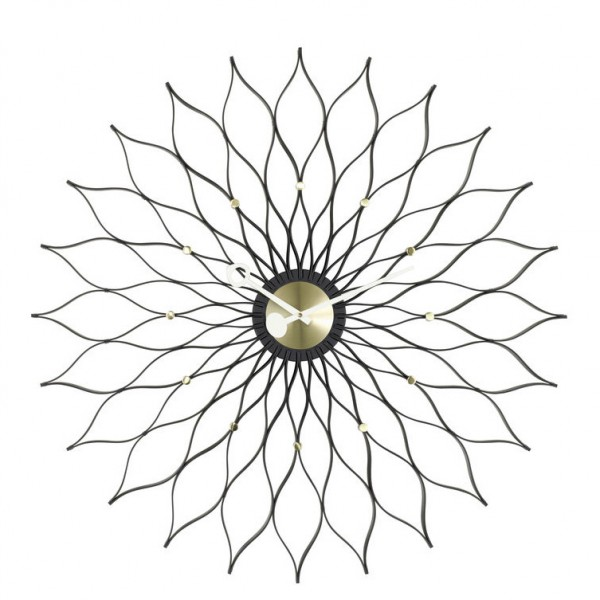 Sunflower-Clock-Messing-George-Nelson-Vitra