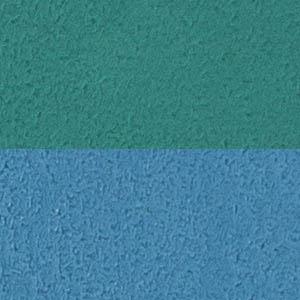 Sitz blau, Rücken grün