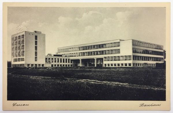 Bauhaus-Postkarte-Lucia-Moholy