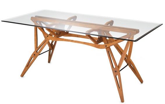 Reale-Dining-Table-Glas-Carlo-Mollino-Zanotta