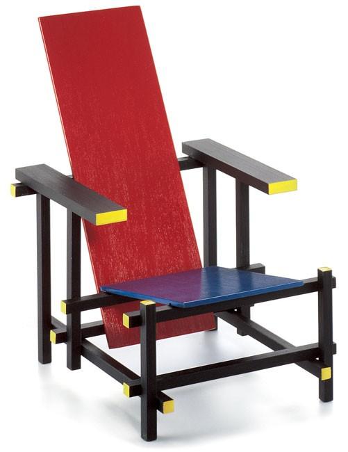 Rietveld stuhl zeichnung  Rot-Blauer Stuhl (Miniatur) - von Gerrit Rietveld - Vitra Design ...