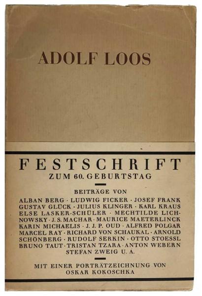 Adolf-Loos-60-Geburtstag