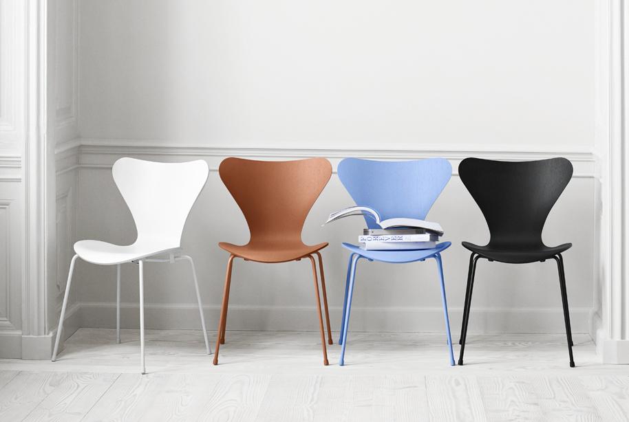 Arne Jacobsen Stühle 3107 stuhl monochrom arne jacobsen markanto