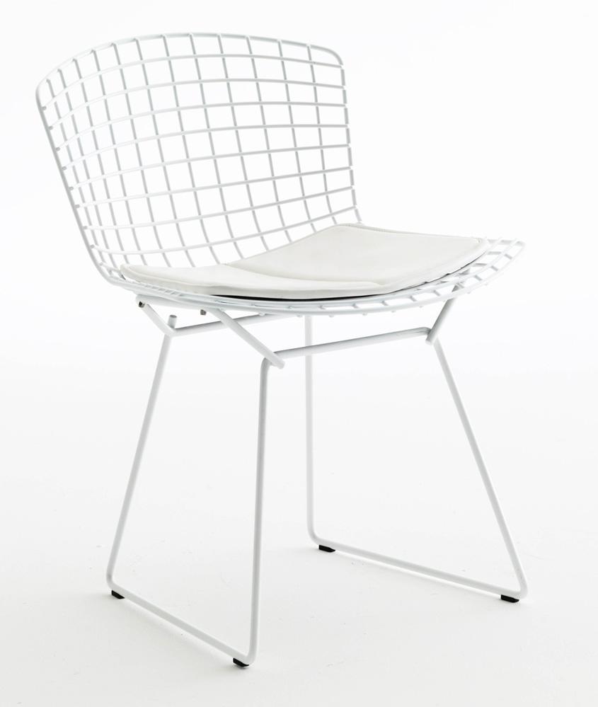 Bertoia Stuhl 420 mit Sitzkissen I Harry Bertoia I Knoll