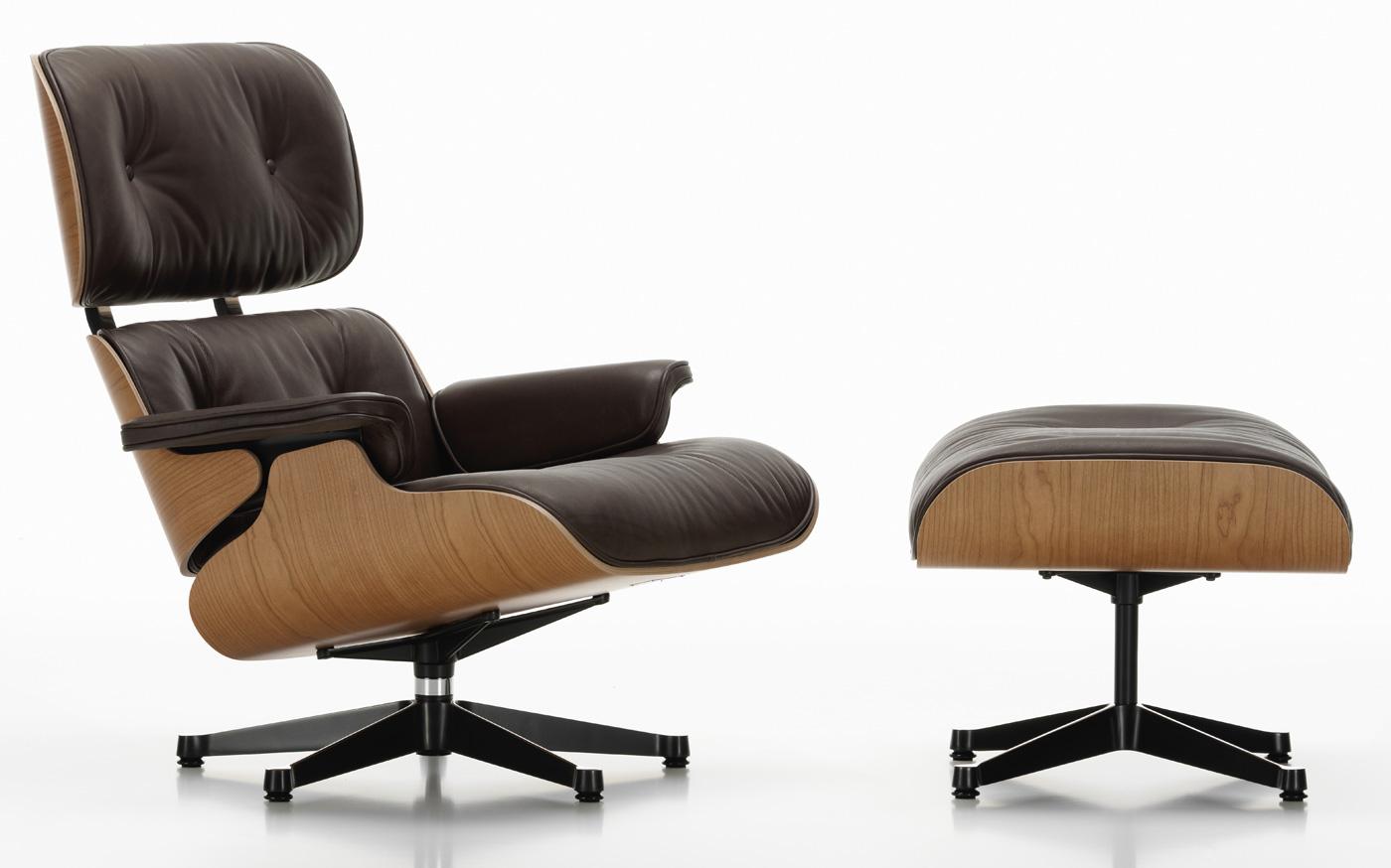Eames Lounge Stoel : Lounge chair kirschbaum von charles und ray eames vitra markanto