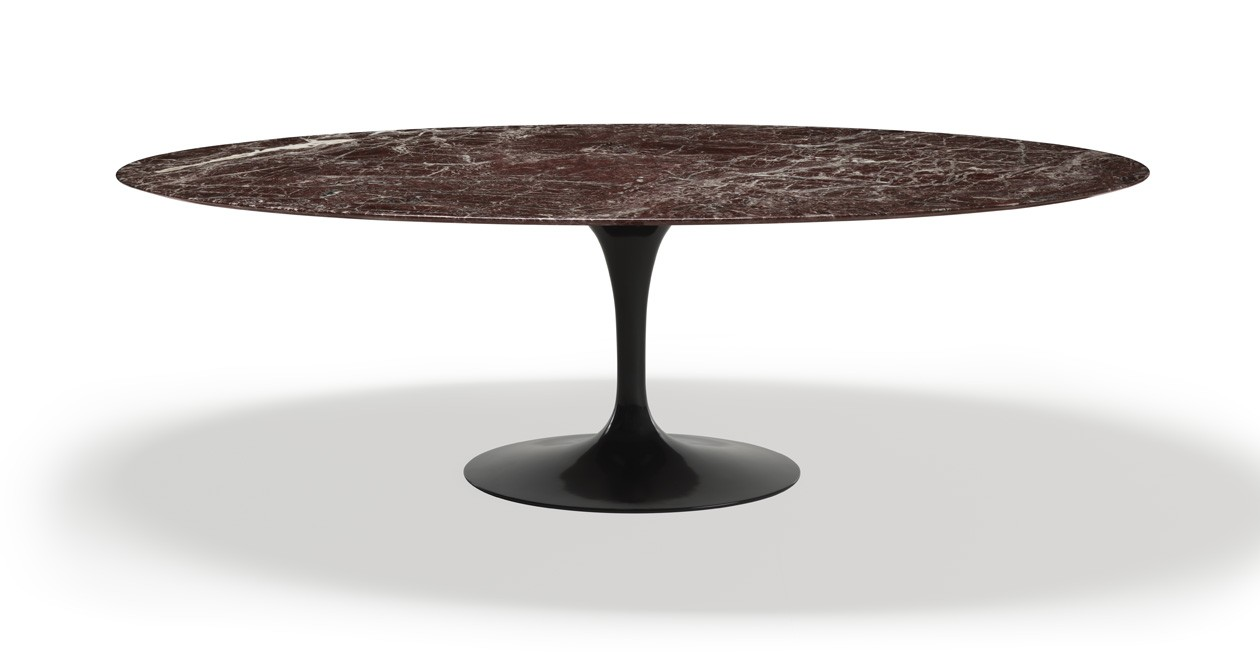 Saarinen_Table__Rosso_Rubino_KNOLL