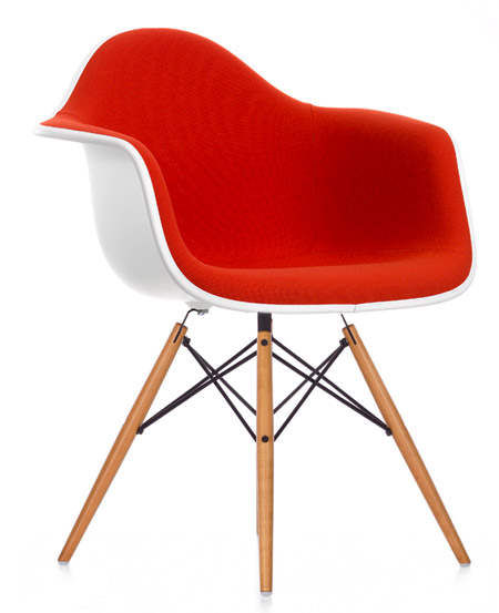 Eames Plastic Arm Chair DAW (Vollpolster)   Von Charles Und Ray Eames    Vitra | Markanto