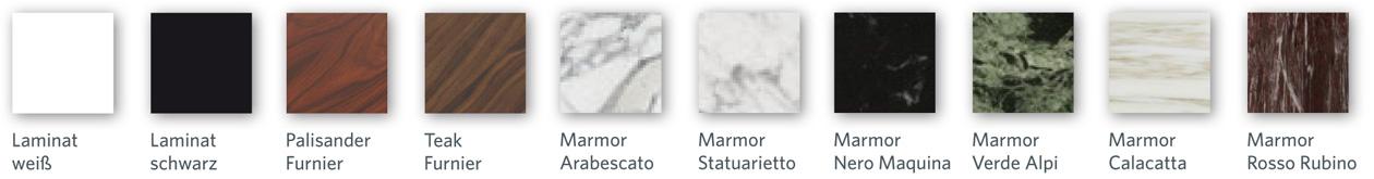 Knoll Saarinen Oberflächen