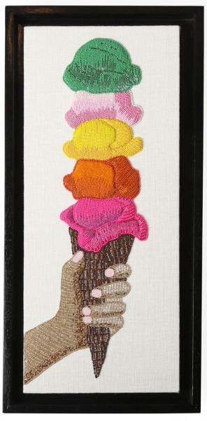 Jonathan-Adler-Ice-Cream-Beaded-wall-art