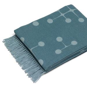 Eames Wool Blanket hellblau