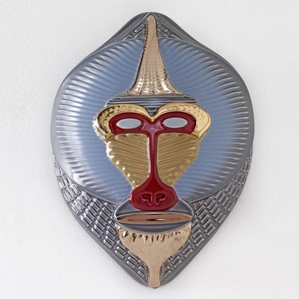 Bosa-Primates-Mandrillus-maske-Elena-Salmistraro