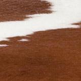 Kuhfell braun-weiß