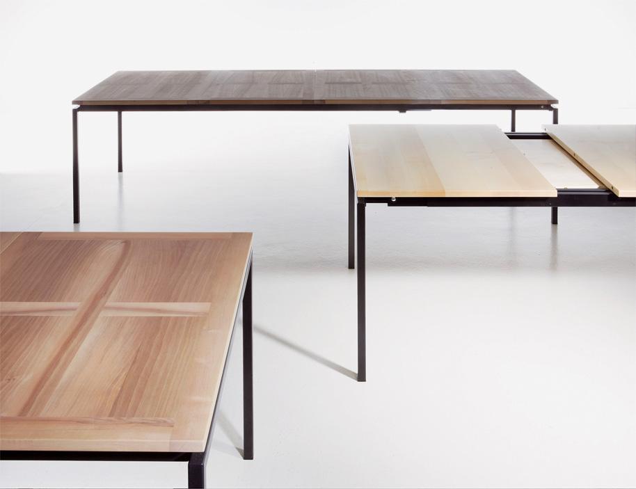 ein tisch f r alle f lle auszugstisch von ulrich wieser markanto. Black Bedroom Furniture Sets. Home Design Ideas