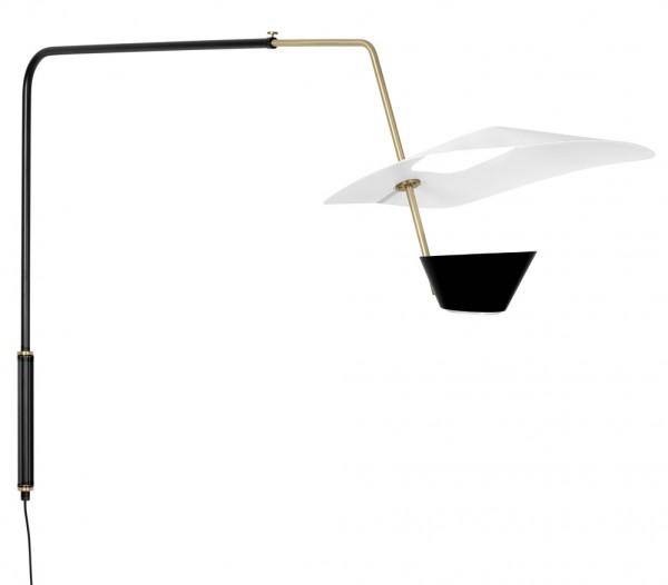 Sammode-Pierre-Guariche-wandlampe-g25