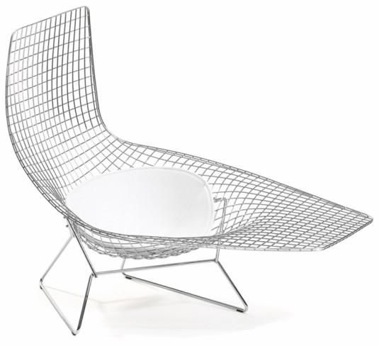Asymmetric Chaise Von Harry Bertoia I Knoll International Kollektion