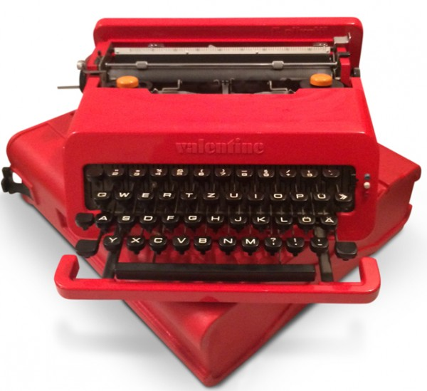 Olivetti-Valentine-Schreibmaschine-Ettore-Sottsass