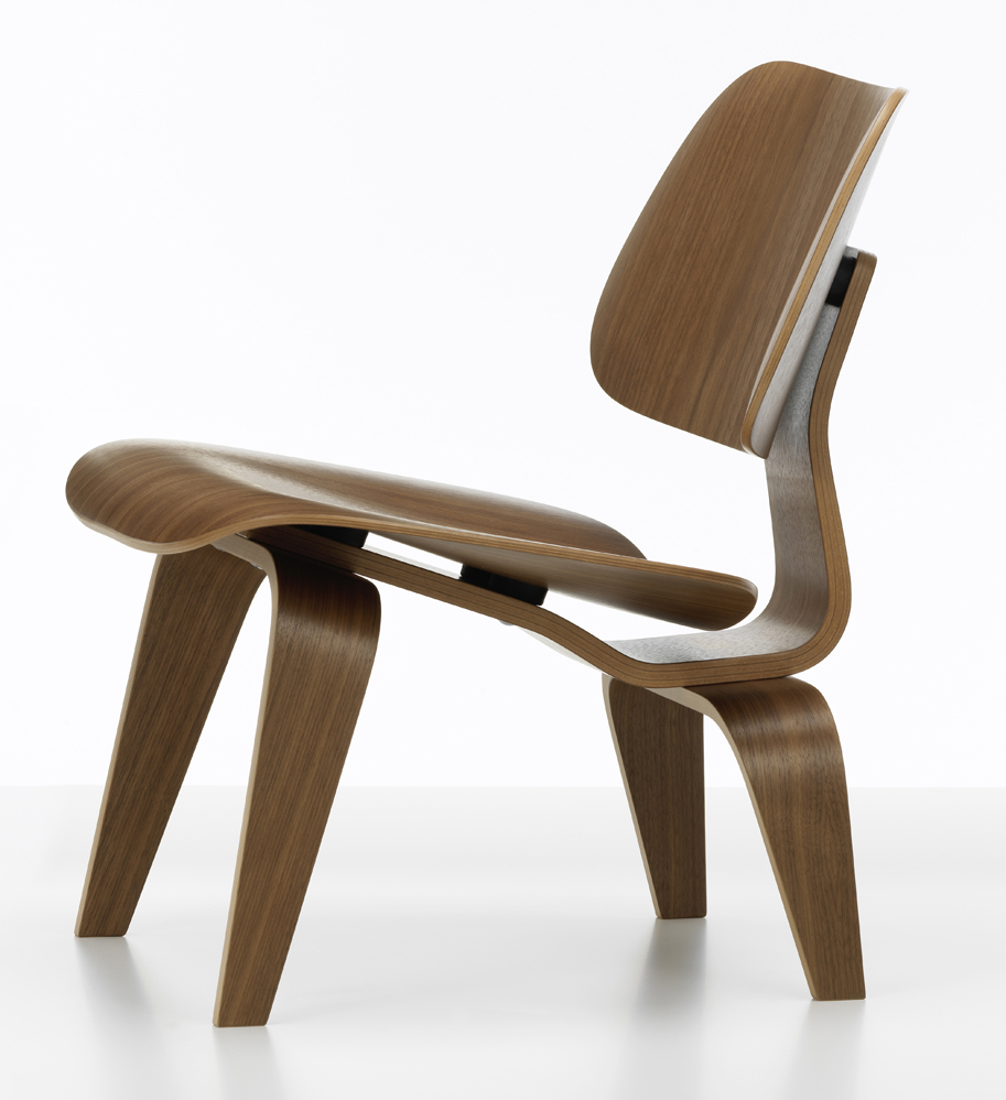 Lcw Lounge Chair Wood Von Charles Und Ray Eames I Vitra