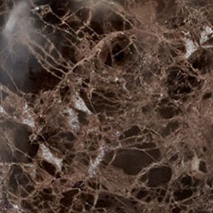 Marmor schwarzbraun