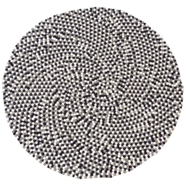 Designercarpets-Filzteppich-Confetti-Schwarz-Weiß