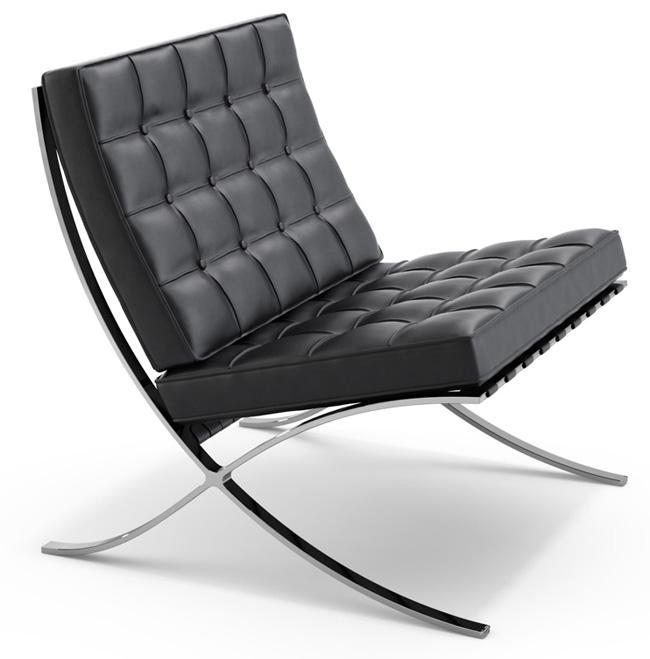 barcelona sessel von ludwig mies van der rohe knoll international markanto. Black Bedroom Furniture Sets. Home Design Ideas