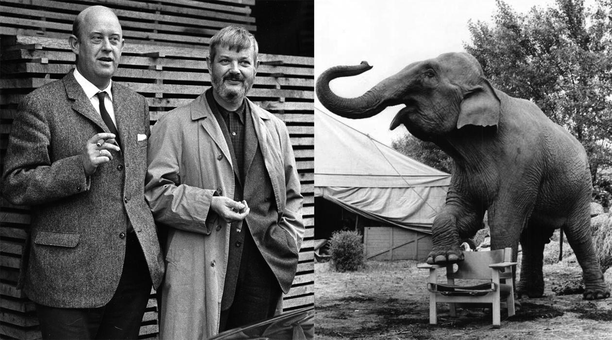 Fredericia und der Elefant