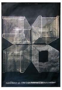 Verner-Panton-Wire-Regal-Werbeplakat