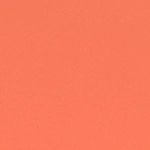 Orangerot lackiert