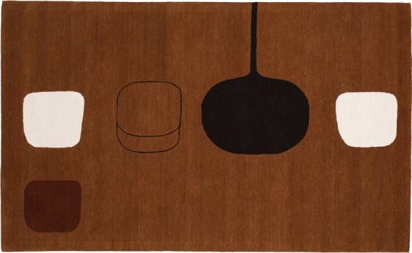 Christopher-Farr-Editions- Permutation-Brown-Teppich-William-Scott