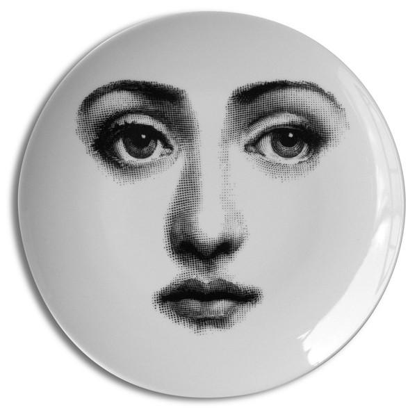 Fornasetti-Wandteller-6-Gesicht-weiss-Fornasetti