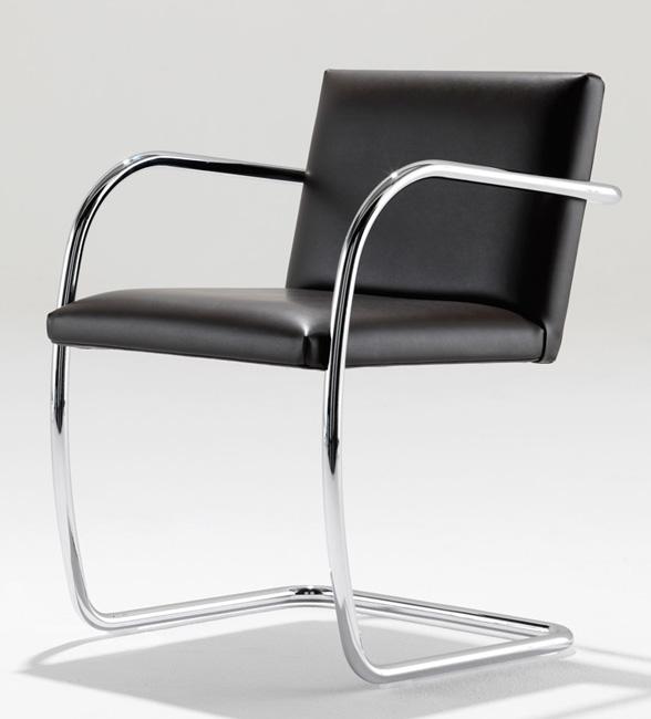 brno stuhl aus stahlrohr i ludwig mies van der rohe i. Black Bedroom Furniture Sets. Home Design Ideas