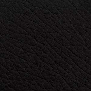 Velour Leder Black