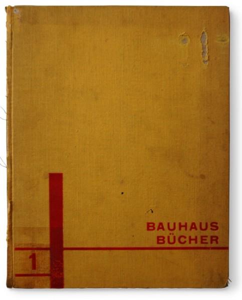 """Bauhaus-Bücher-Nr-1""-von-Walter-Gropius-László-Moholy-Nagy-Albert-Langen-Verlag"