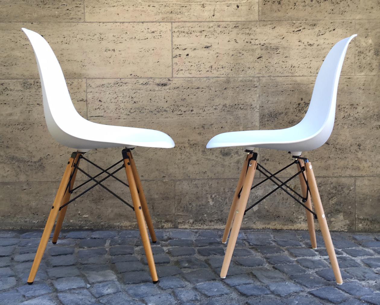 Original Und Falschung Der Eames Plastic Chair Markanto