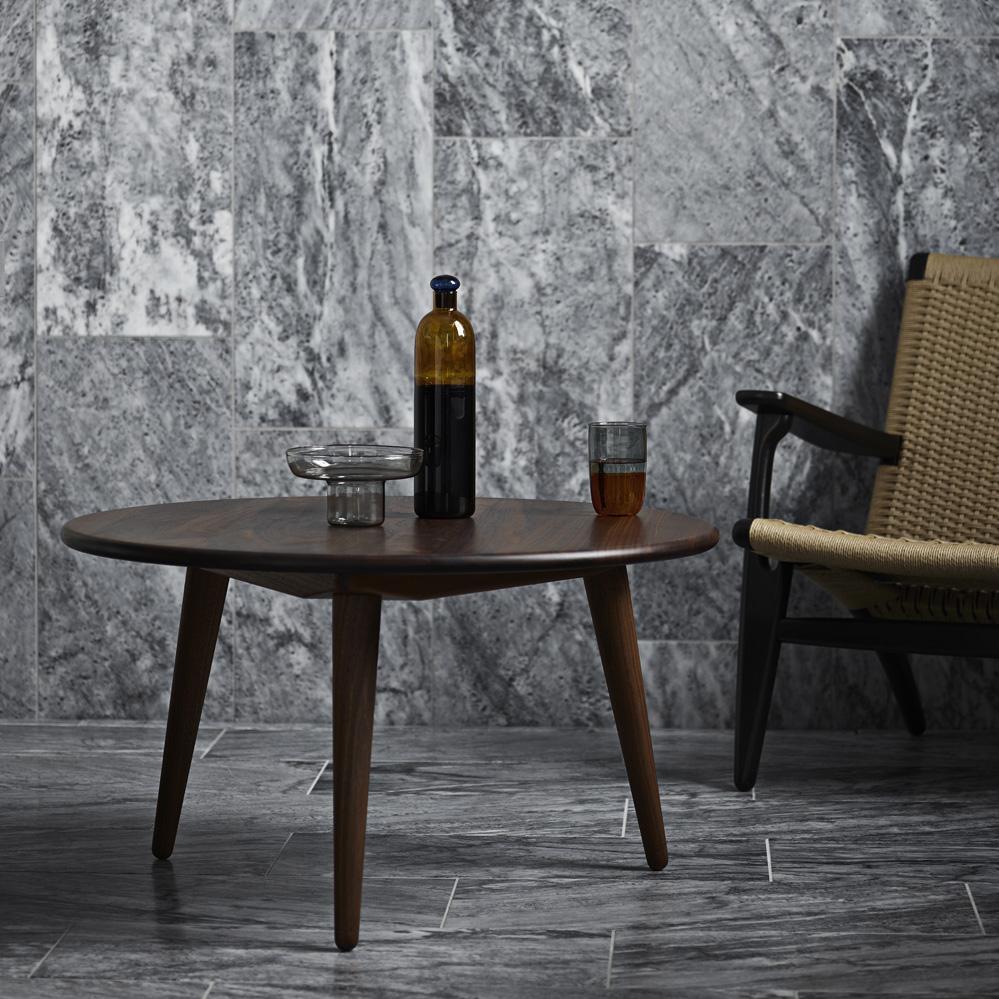 Wegner Ch008 Coffee Table: Carl Hansen CH008 Couchtisch Mit 88 Cm Durchmesser Von